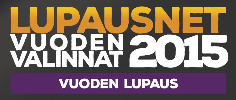 LupausNetin Vuoden Valinnat 2015 – Vuoden lupaus – Maksetut Viulut