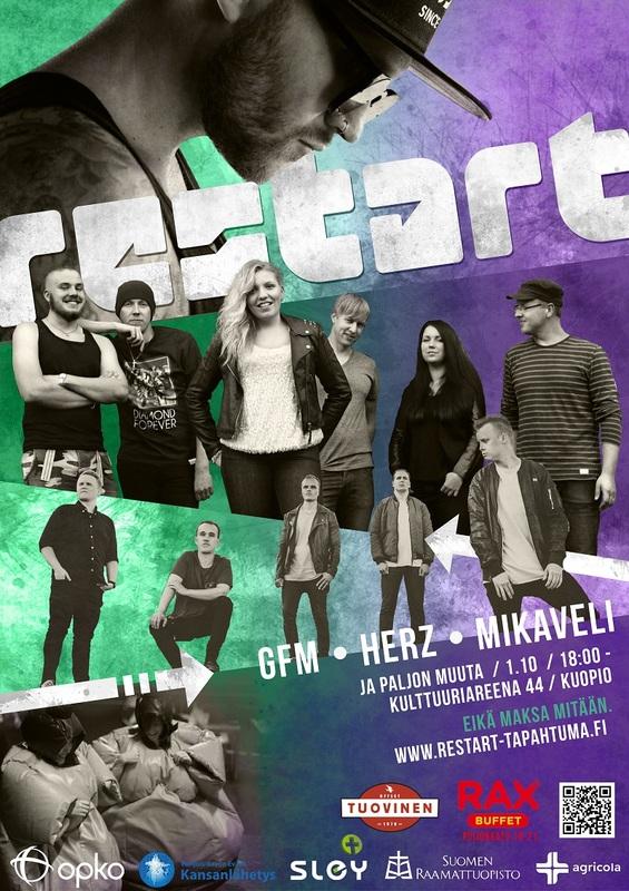 ReStart – tapahtuma huomenna Kuopiossa