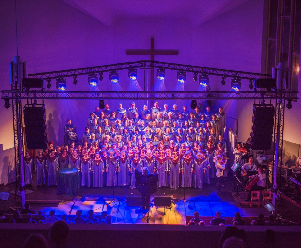 Lahden Gospelkuoro @ Heinola, kirkko, klo 14 | Heinola | Suomi