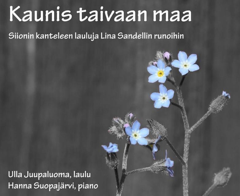 Levyarvostelu: Kaunis taivaan maa – Siionin kanteleen lauluja Lina Sandellin runoihin