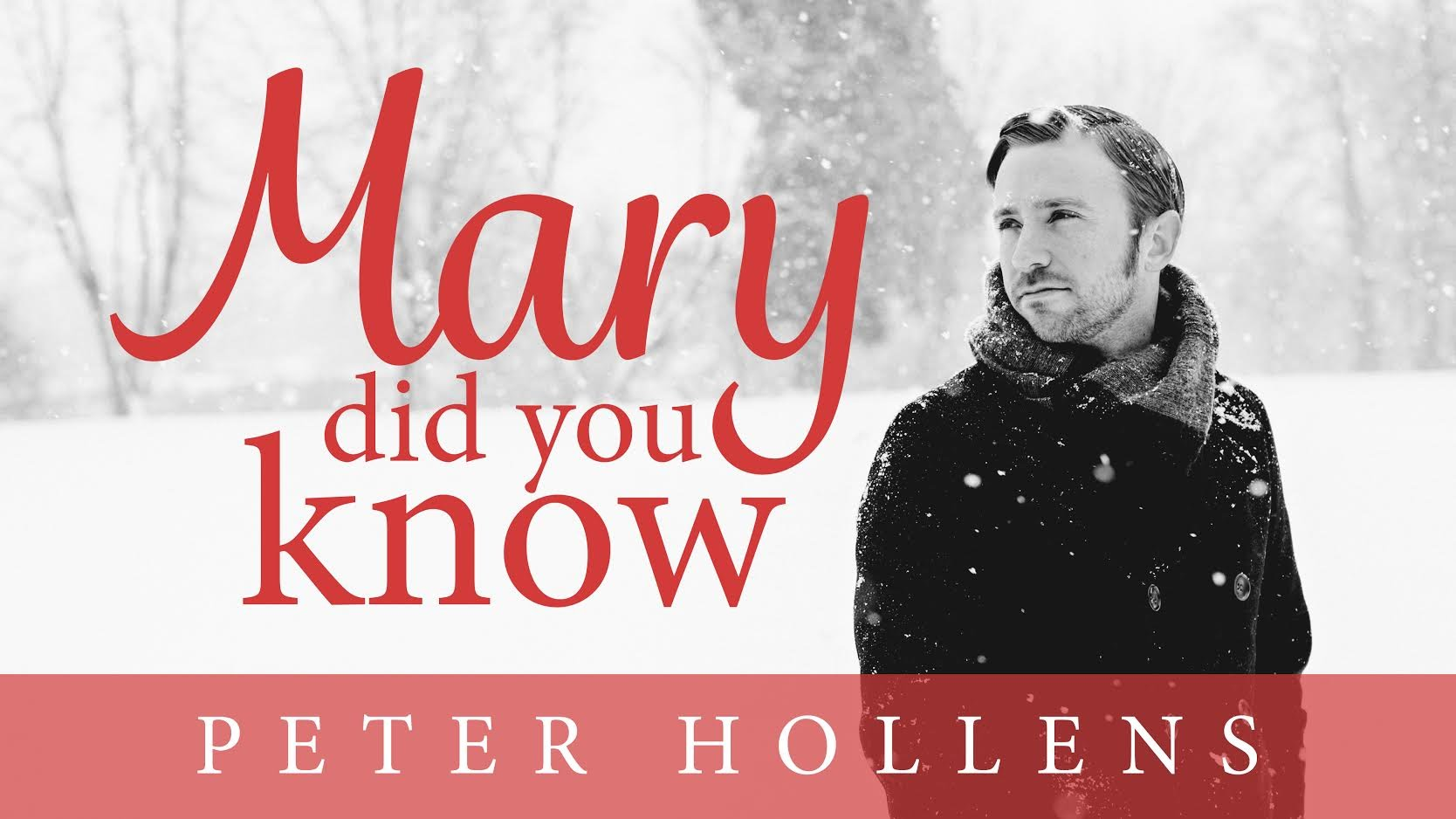 Video: Peter Hollens – Mary, Did You Know?