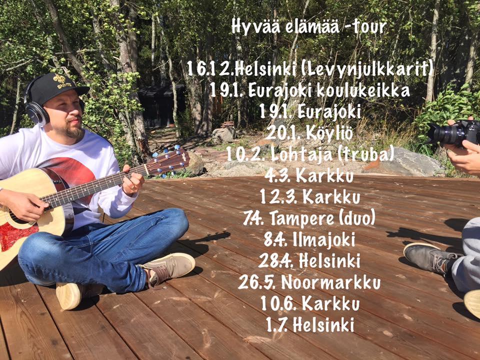 Samuli Luomaranta & Kotiinpalaajat kalenteriin