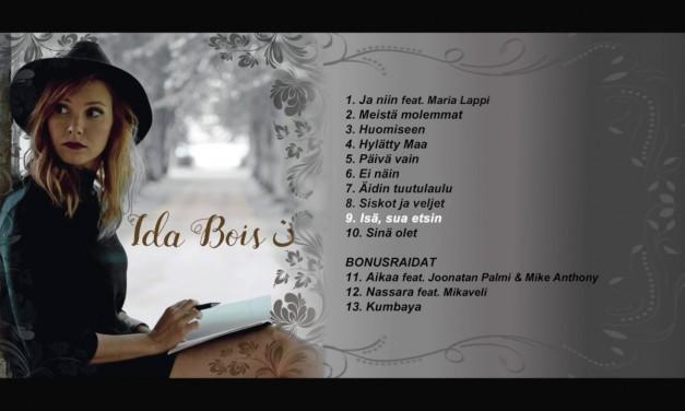 Ida Boisin uusi levy Nassara julkaistaan huomenna